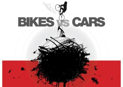 Bisikletler Arabalara Karşı (Bikes vs Cars)