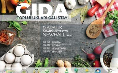 II. Gıda Toplulukları Çalıştayına Davetlisiniz! 🤗