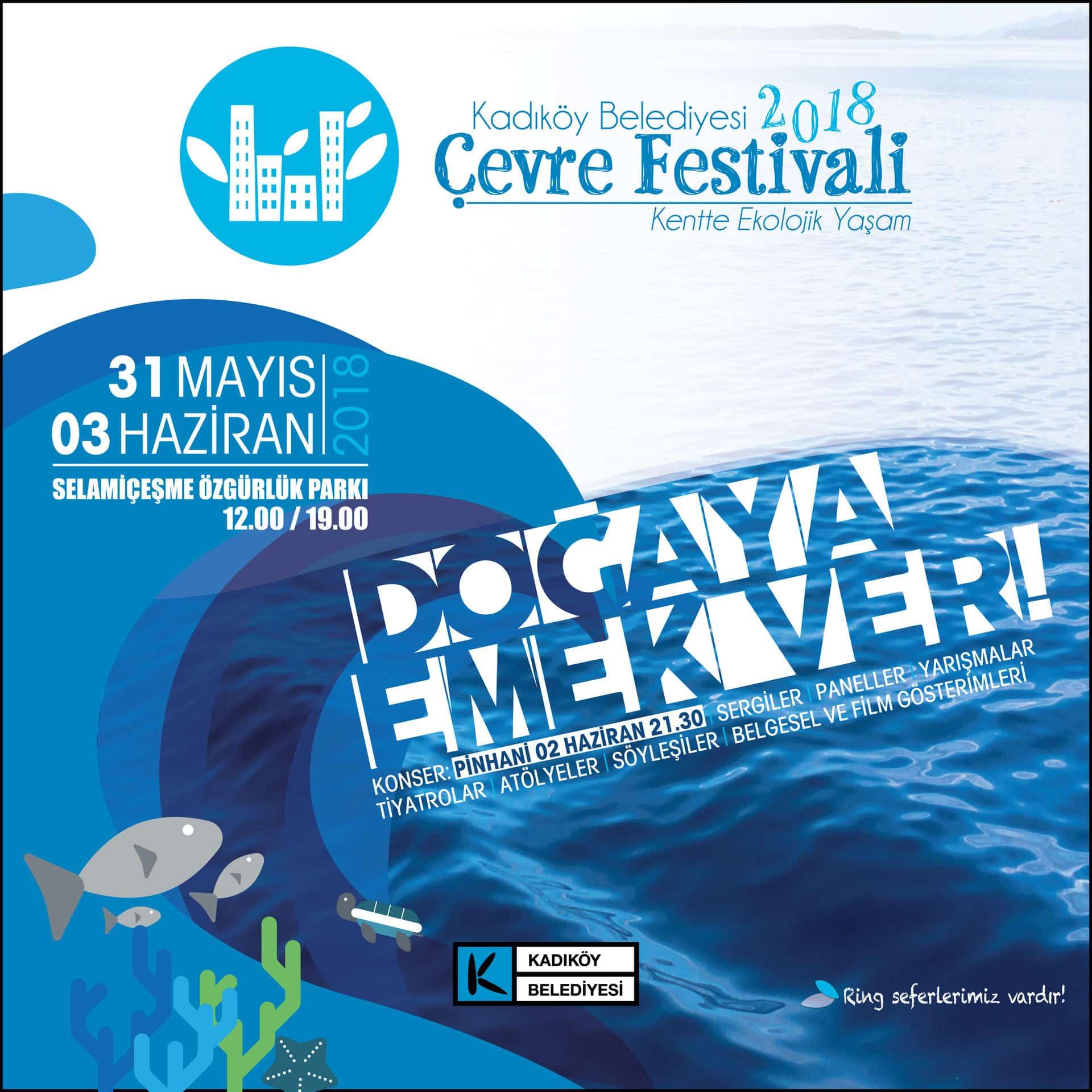 Kadıköy Çevre Festivali EkoHarita Standında Buluşuyoruz!